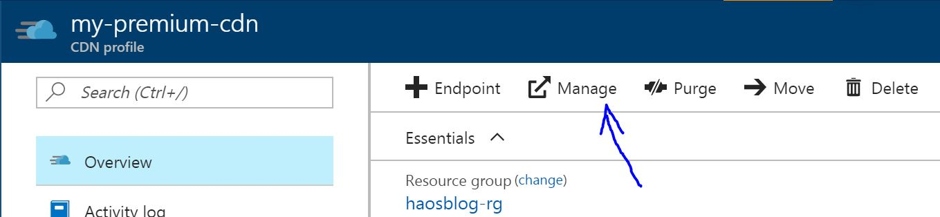Serving Your Static Sites with Azure Blob and CDN · Hao's Blog